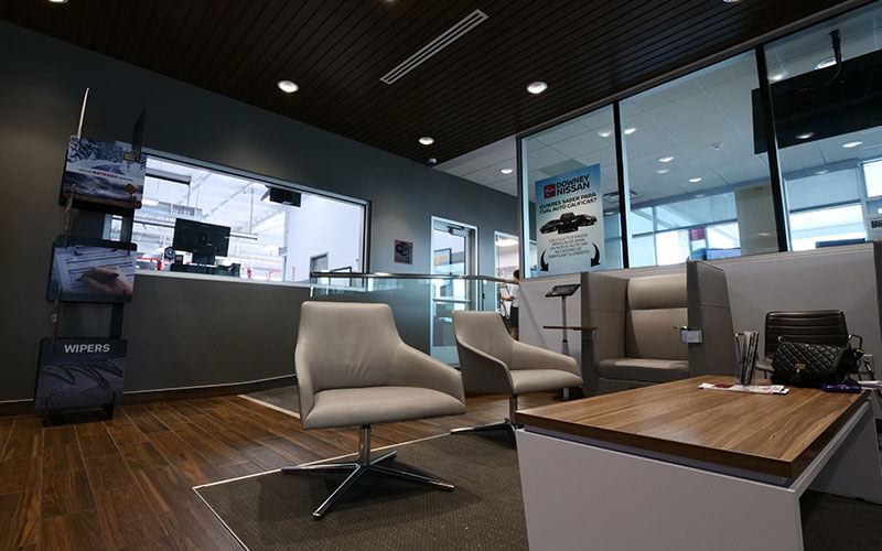 Nissan Service Lounge