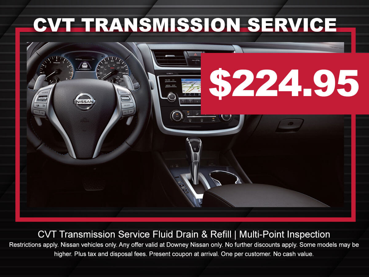 Nissan Transmission Service Special